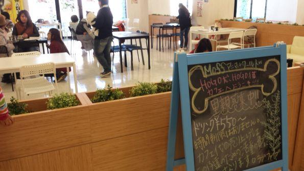 千葉県印西市のドッグカフェ 飲食店 Moffアニマルワールド
